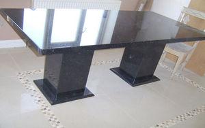 MGWL ( MARBLE   GRANITE   LIMESTONE AND QUARTZ) - table - Rechteckiger Esstisch