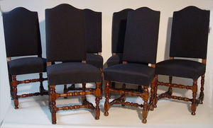 KUNST UND ANTIQUITATEN EHRL - 6 chairs - Stuhl