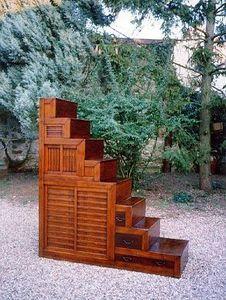 Eliane Cohen - kaïdan dansu : escalier meuble japonais xixème siè - Bibliothek