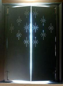 Hayhoe Designs -  - Klapp Lamellenfensterläden