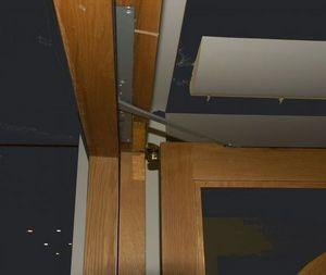 Woodwood Door Controls - lec concealed mounting overhead door operator - Türdiener