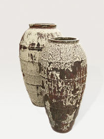DESIGNER PLANTERS - mystic ocean ceramic  - Gartenamphore