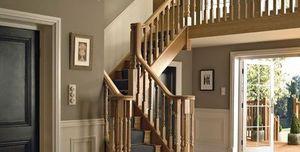 Richard Burbidge -  - Viertelgewendelte Treppe