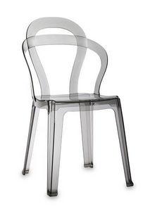 SCAB DESIGN - titì - Stapelbare Stühle