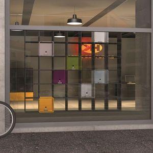 Qubing - systeme de presentation et separation - Schaufenster