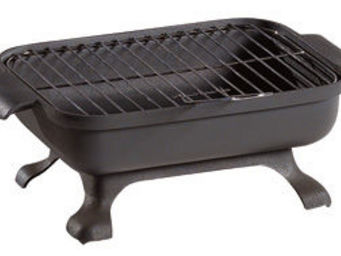 INVICTA - barbecue de table malawi en fonte - Holzkohlegrill