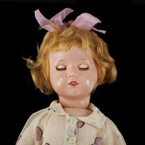 Expertissim - bébé allemand avec tête en celluloïd. - Puppe