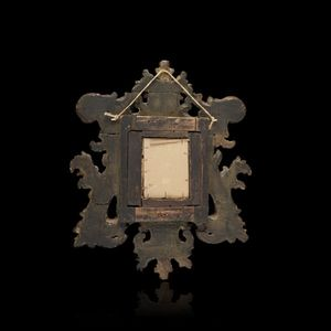 Expertissim - miroir italien en bois doré - Spiegel