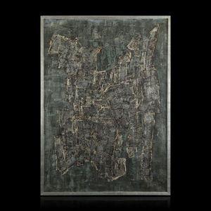 Expertissim - chaim kiewe. composition f. 60 n°5 - Zeitgenössische Gemälde