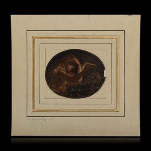 Expertissim - ecole italienne vers 1790. marie-madeleine repenta - Ölgemelde Auf Leinwand Und Holztafel