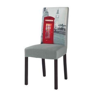 Maisons du monde - housse de chaise grise margaux - Stuhl Bezug