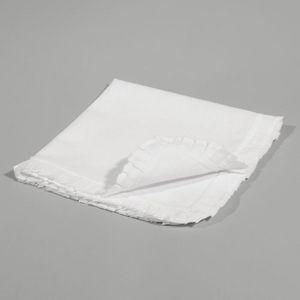Maisons du monde - serviette bord volant - Tisch Serviette