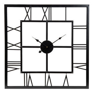 Maisons du monde - horloge usine carrée - Küchenuhr