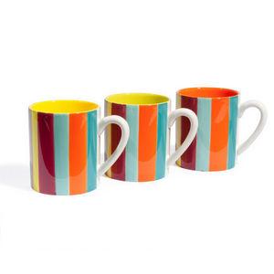 Maisons du monde - assortiment de 6 mugs soleya - Mug