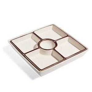Maisons du monde - apéritif carré cream tea - Aperitif Schale