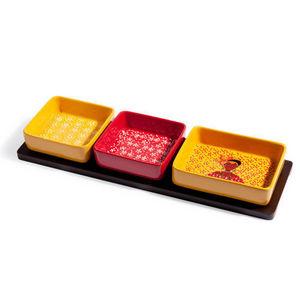 Maisons du monde - plateau apéro 3 compartiments tanaka - Tablett