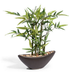 MAISONS DU MONDE - composition bambou - Blumengebinde