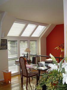 DECO SHUTTERS - volets intérieurs en peuplier - Klapp Lamellenfensterläden