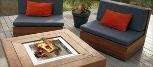 MOBEX / Le Mobilier d'Exception - compact - Tisch Mit Feuerstelle