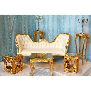 DECO PRIVE - trone de mariage vente (pack 8) double end - Sitzgruppe
