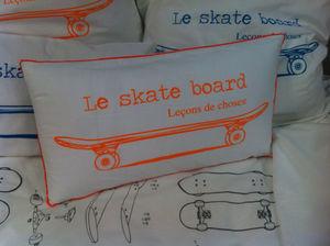 leçons de choses - skate - Kinderkissen