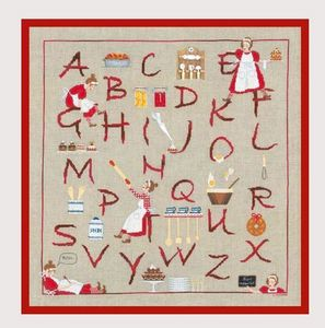 Le Bonheur Des Dames -  - Buchstabenspiel