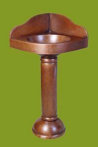 COPPER DESIGN MAKERS -  - Fuß Oder Säulenwaschbecken