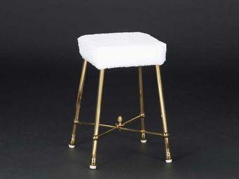 Cristal Et Bronze -  - Badezimmerhocker
