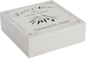 Aubry-Gaspard - boite de rangement cuisine huile d'olive - Staukiste