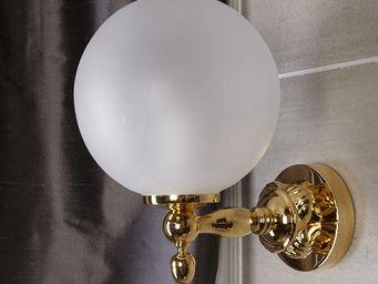 Cristal Et Bronze - versailles boutons - Badezimmer Wandleuchte