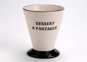 Amadeus - coupe à glace en dolomite dessert à partager 10x10 - Kaffeetasse