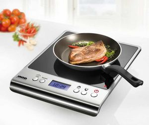 UNOLD - plaque de cuisson a induction simple - Herdplatte