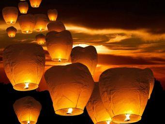 BELIANI - lanterne volante - Gartenlaterne