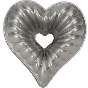 Nordicware - moule à gâteau bundt forme coeur 3d - Kuchenform