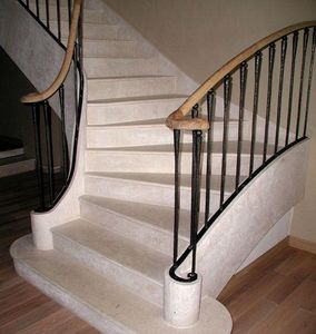 RETEGUI -  - Viertelgewendelte Treppe