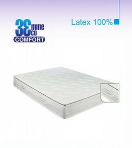 ECO CONFORT - matelas eco-confort 100% latex 7 zones 180 * 200 - Latexmatratze