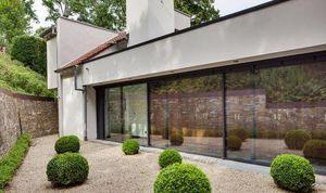 Schüco France -  - Schiebeglasfensterfront