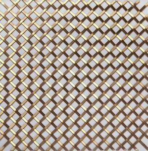 BRASS - g025 001 - Dekorative Drahtzaun