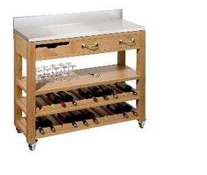 Maison Strosser - caviste - Küchenblock