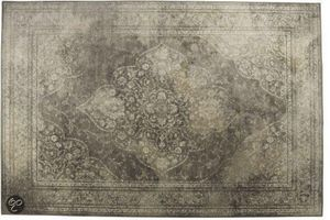 WHITE LABEL - tapis style persan rugged beige de zuiver 200 x 30 - Berberisch Teppich