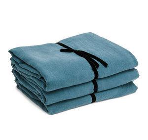 Couleur Chanvre - couleur bleu du sud. - Bettlaken
