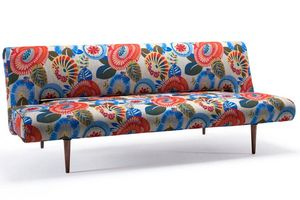 INNOVATION - canape design unfurl flower power convertible lit  - Klappsofa