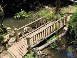 Africa Style -  - Garten Brücke