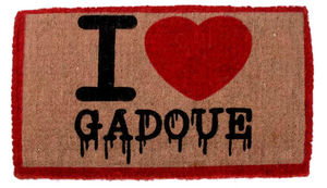 Amadeus - paillasson coco i love gadoue - Fussmatte