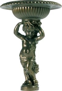 Fontes D'art De Dommartin - fontaine de jardin angelot - Springbrunnen
