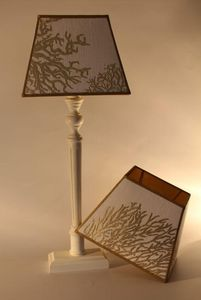 L'ATELIER DES ABAT-JOUR -  - Viereckiger Lampenschirm