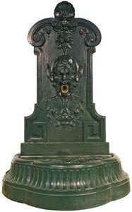 Fontes D'art De Dommartin - fontaine murale de jardin mephisto - Wandbrunnen