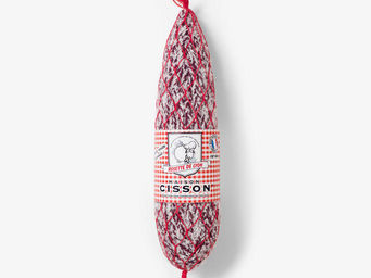 Maison Cisson - la rosette de lyon filet rouge - Wanddekoration