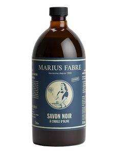 MARIUS FABRE - savon noir � l'huile d'olive - Schwarze Seife
