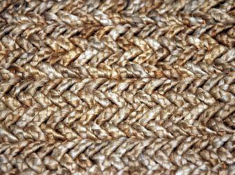 Bausol - braided jute - Maßgefertigter Wandteppich